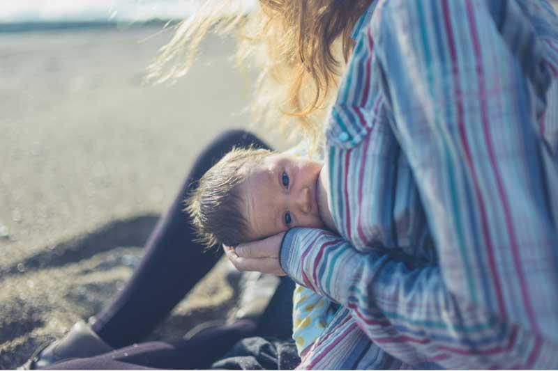ragbi poloak za dojenje bebe