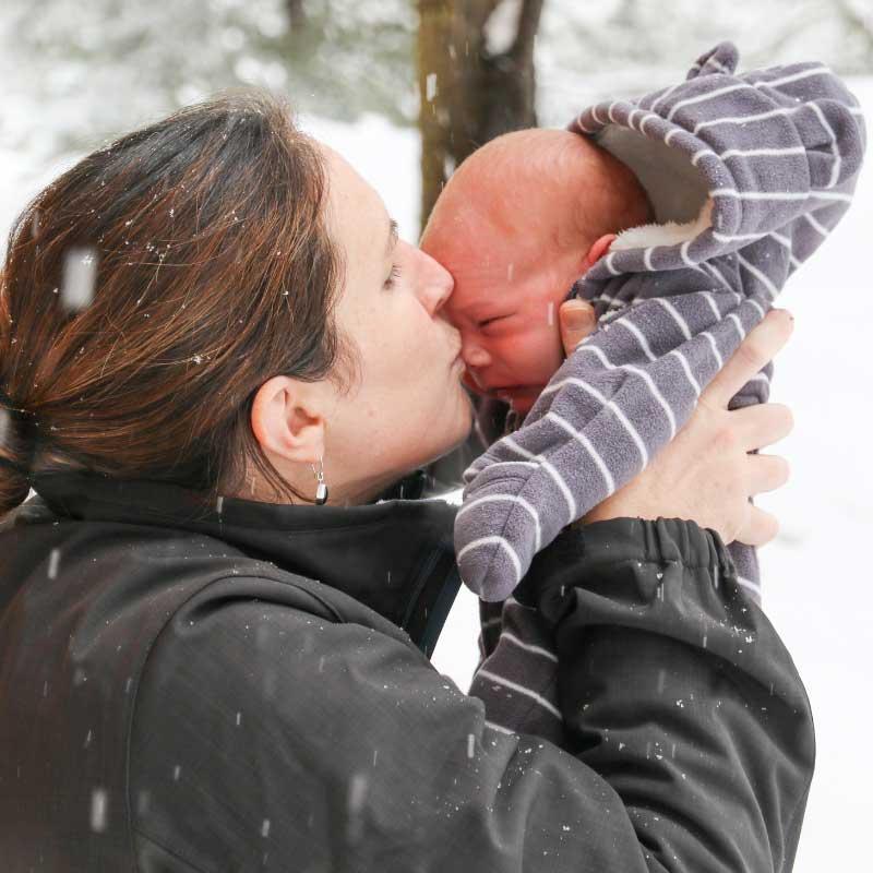 kada beba sme napolje zimi
