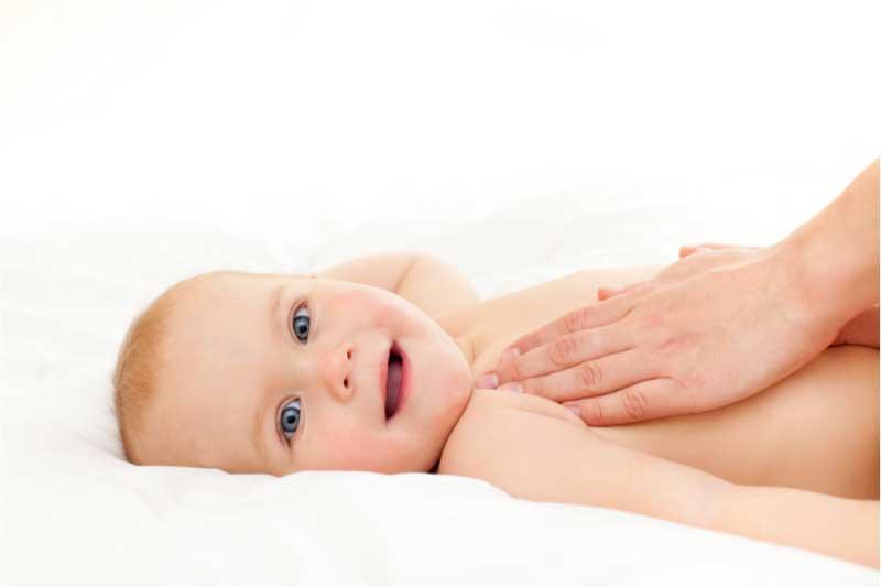 masaža za bebe