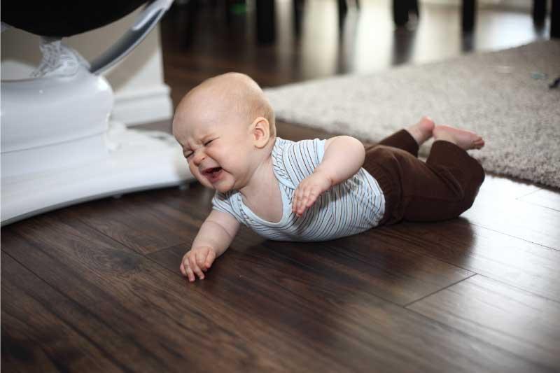 vreme na stomaku za bebe
