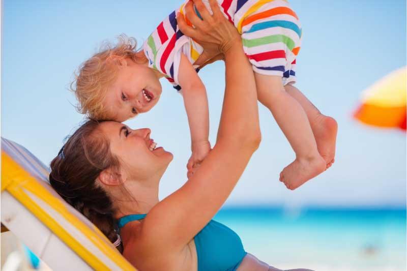 letovanje sa bebom