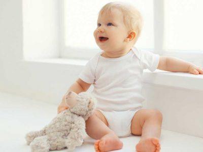 kada beba počinje da sedi