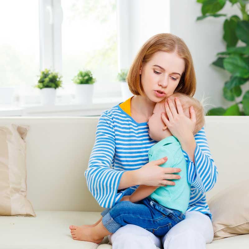 tešenje bebe koja plače