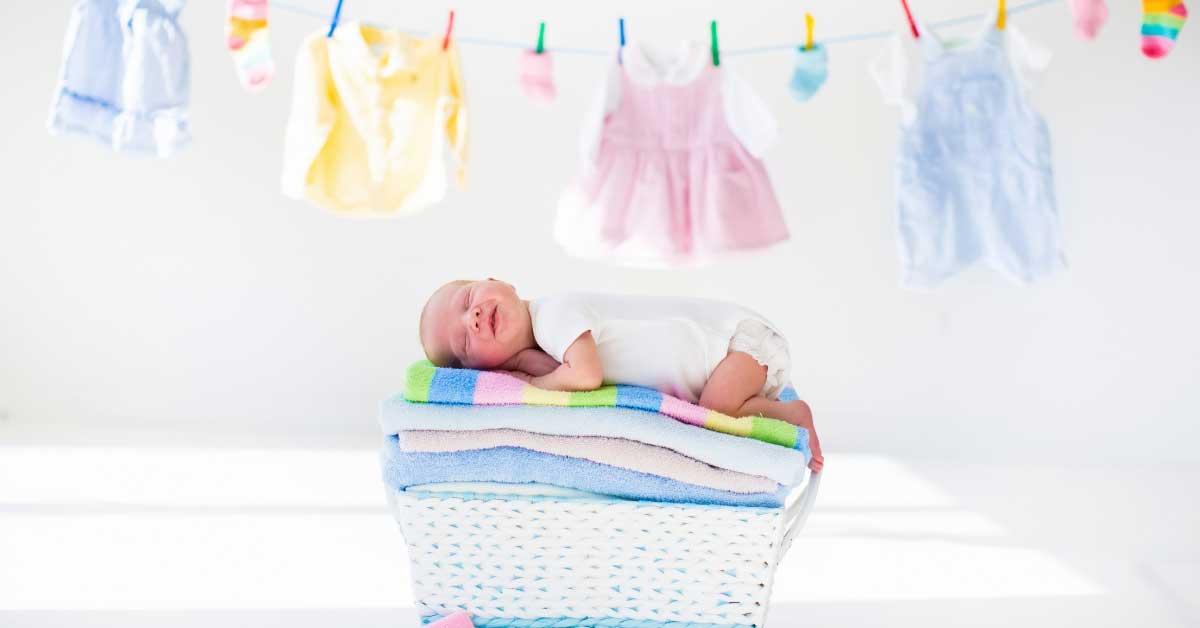 pranje bebinih stvari