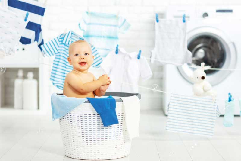 Title pranje bebinih stvari u mašini