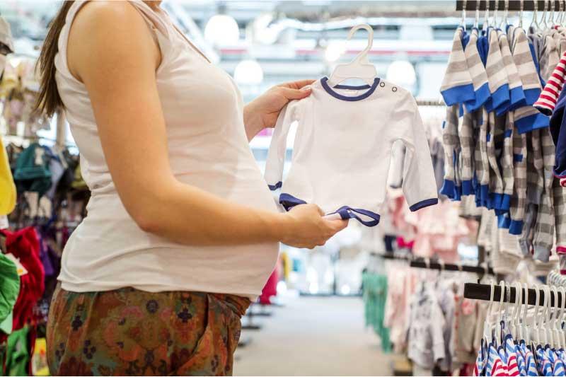 kupovina odeće za bebu