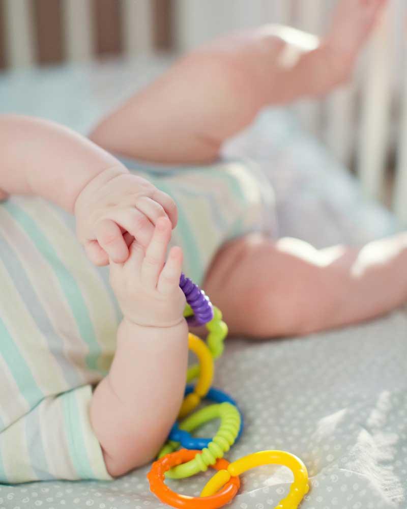 razvoj hvatanja bebe