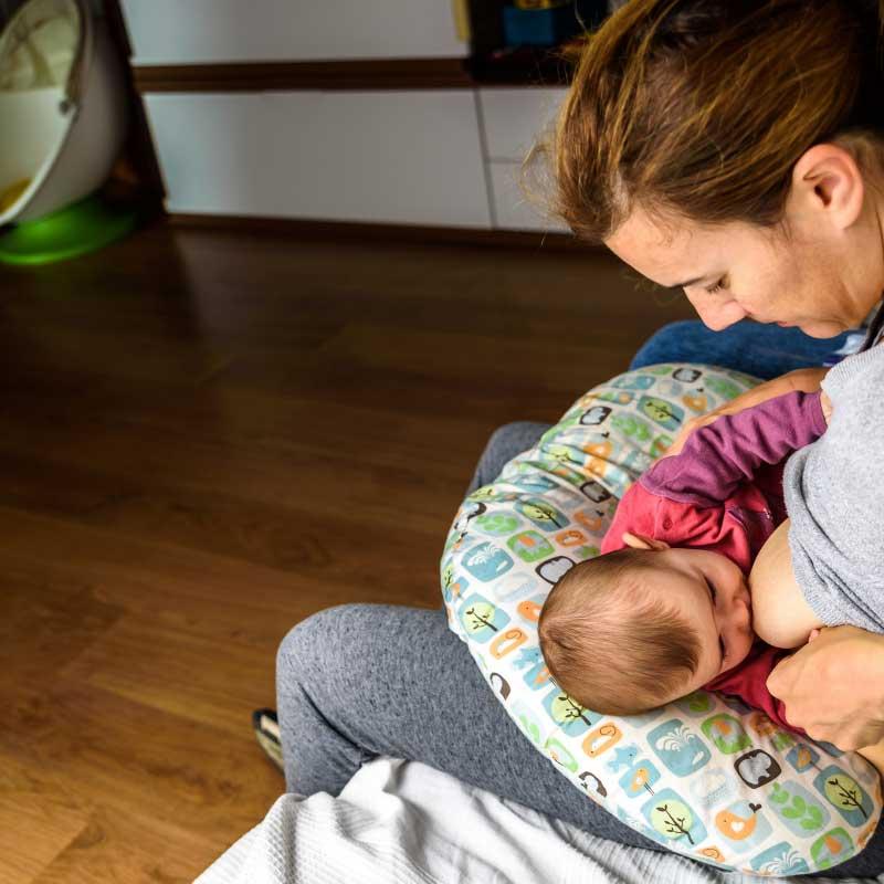 jastuk za dojenje upotreba